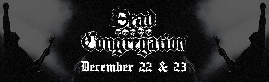 Dead Congregation live at Temple