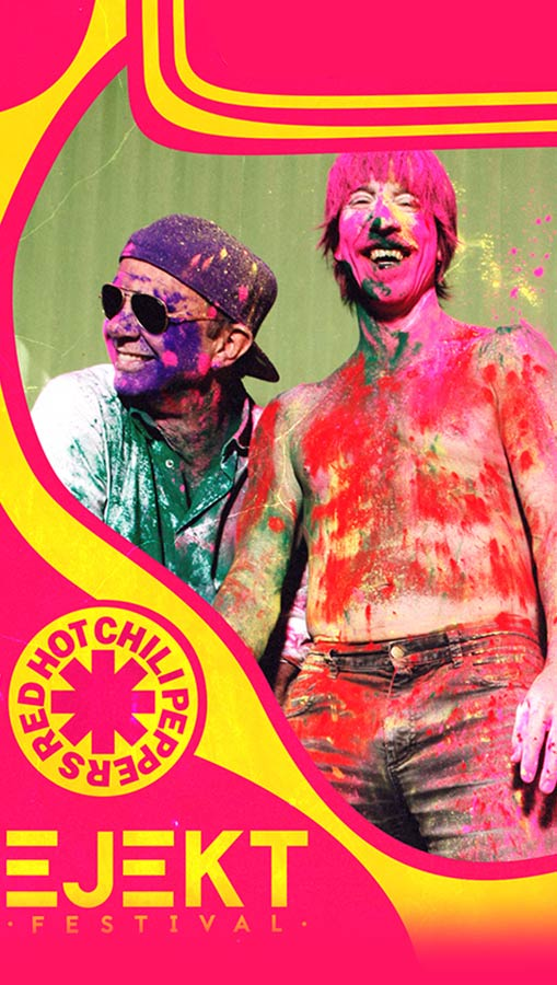 Ejekt Festival 2020 | Red Hot Chili Peppers more acts tba
