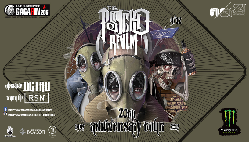 The Psycho Realm 20th Years Anniverasy show in Athens
