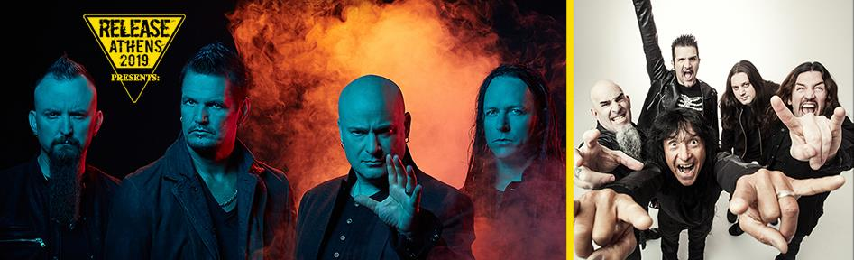 Release Athens 2019 / Disturbed
