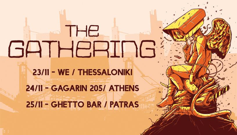 THE GATHERING live in Greece