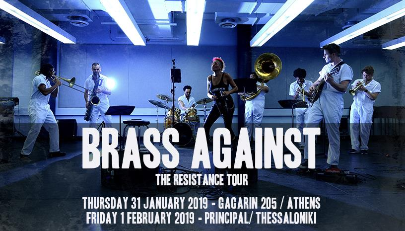 BRASS AGAINST LIVE IN GREECE