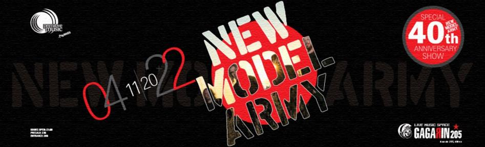 NEW MODEL ARMY   TBA