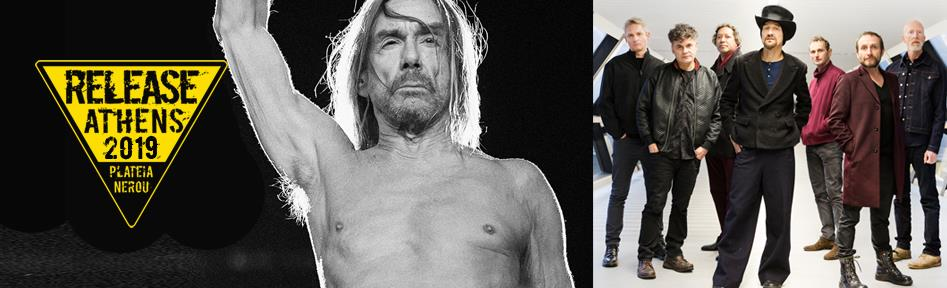 Release Athens 2019 / Iggy Pop and James and Shame