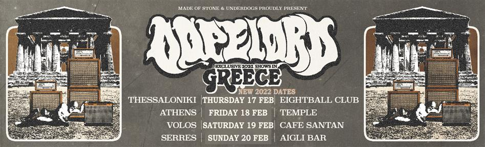 DOPELORD live in Greece