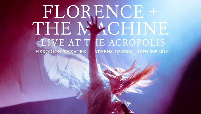 Florence and the Machine live at the Acropolis