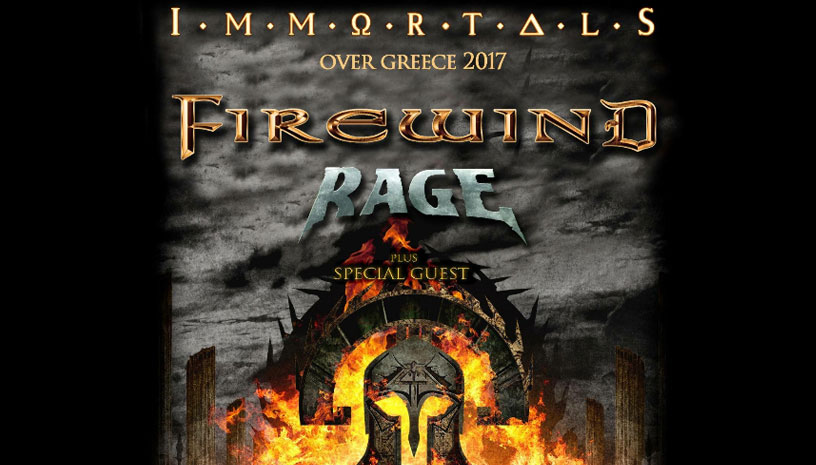 Firewind + Rage + Special Guests