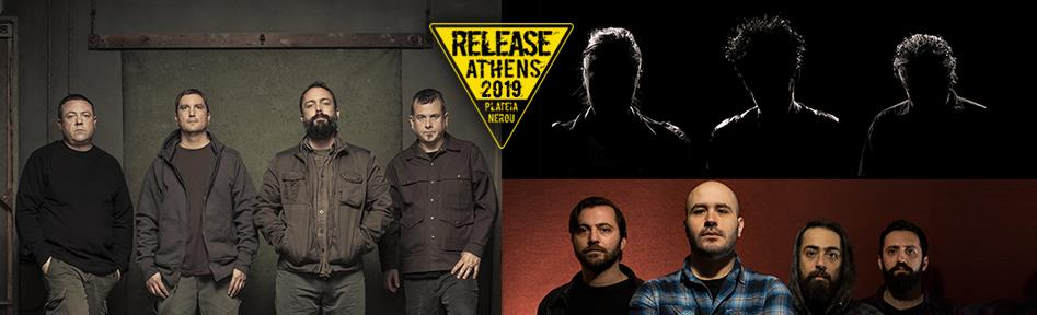 Release Athens 2019 / Clutch and BRMC and Planet of Zeus